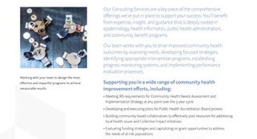 HCI Consulting Services