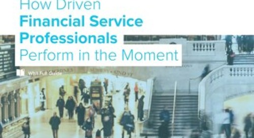 Full Guide: How Driven Financial Services Professionals Perform