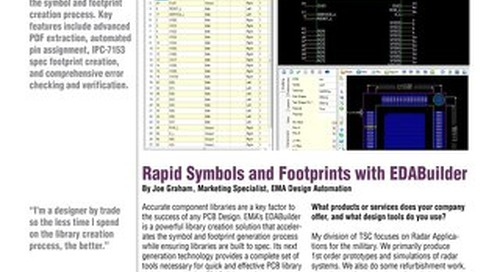 Rapid Symbols and Footprints with EDABuilder