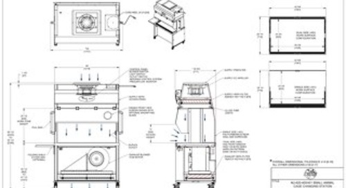 [Drawing] NU-620-400, NU-620-401 Animal Transfer Station