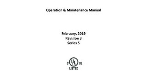 [Manual] AllerGard NU-620 Series 5 Operation and Maintenance Manual