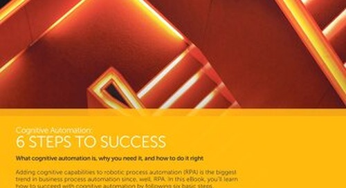 6 Steps to Success in cognitive automation