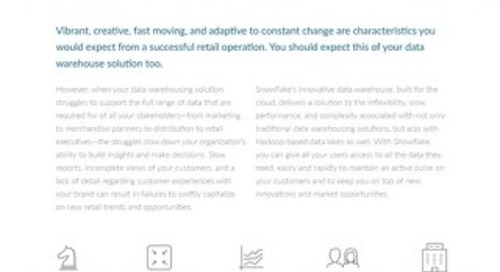 Snowflake Retail Solution Brief