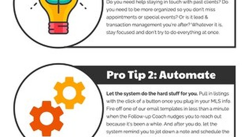 [Infographic] Top Producer CRM - Pro Tips