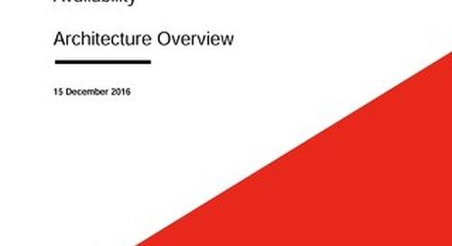 Highly Available SAP HANA on Lenovo System x Servers using Veritas InfoScale Availability