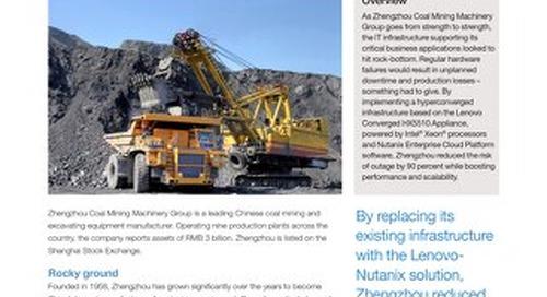 Case Study Zhengzhou Coal Mining Machinery Group