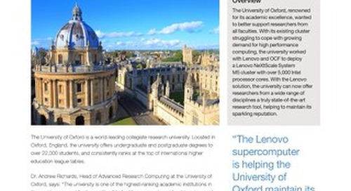 Case Study University of Oxford
