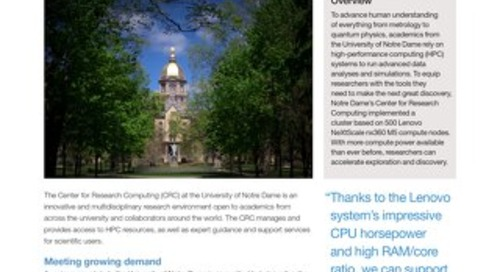 Case Study University of Notre Dame