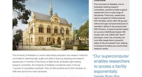 Case Study University of Adelaide