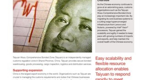 Case Study Taiyuan Wusu Comprehensive Bonded Zone