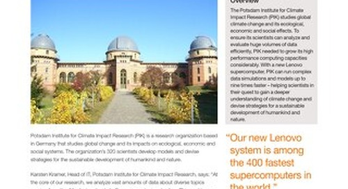 Case Study Potsdam Institute for Climate Impact Research