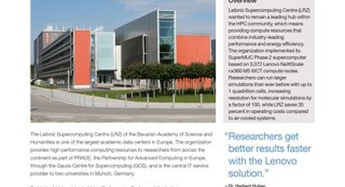Case Study Leibniz Supercomputing Centre