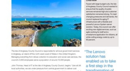 Case Study Isle of Anglesey