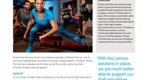 Case Study Fitness First Germany