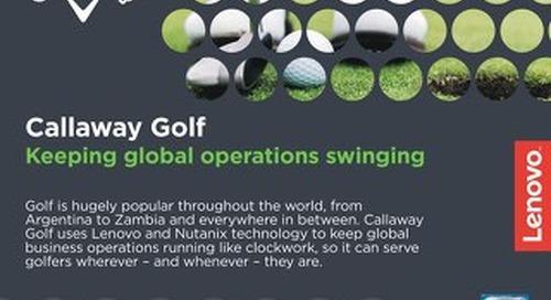 Case Study Callaway Golf