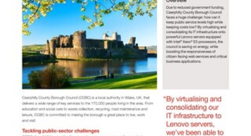 Case Study Caerphilly County Borough Council
