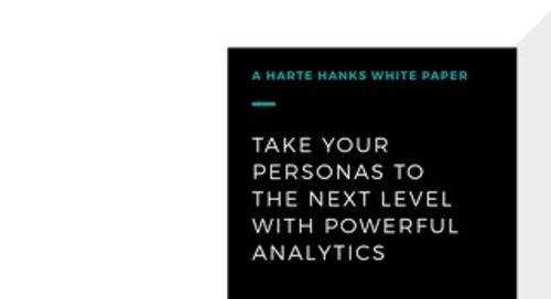 Take Your Personas To The Next Level With Powerful Analytics