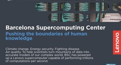 Case Study Barcelona Supercomputing Center