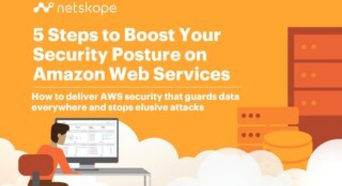 5 Steps to Boost Your Security Posture in AWS