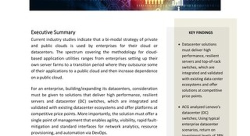 ACG - Research Report on Enterprise Switch TCO