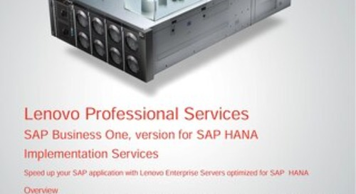 SAP Business One Version for SAP HANA Implementation Services