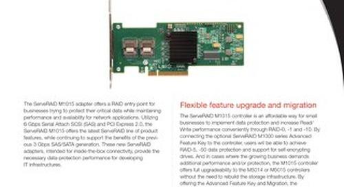 ServeRAID M1015 SAS SATA Controller