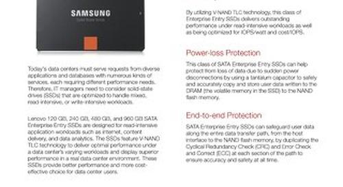 SATA Enterprise Entry SSDs