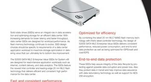 S3500 SATA MLC Enterprise