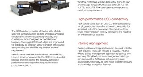 RDX Backup Solutions