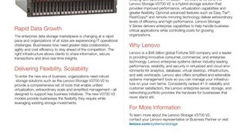 Lenovo Storage V3700 V2