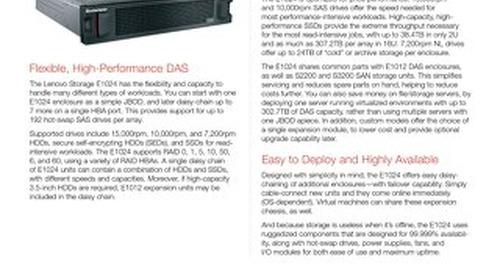 Lenovo Storage E1024