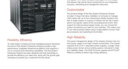 Flex System Enterprise Chassis