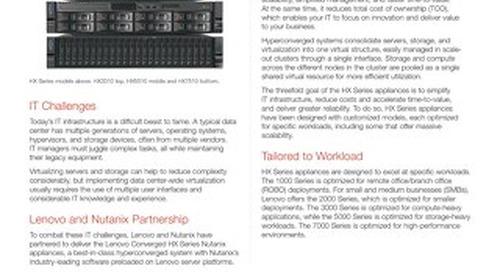 Lenovo Converged HX Series