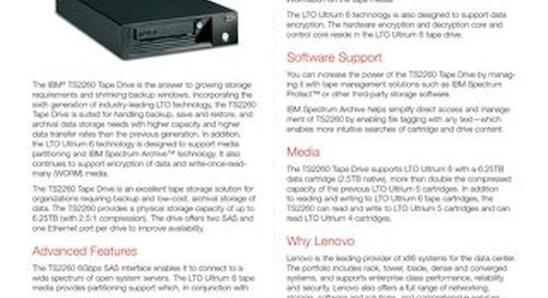Storage TS2260 Tape Drive