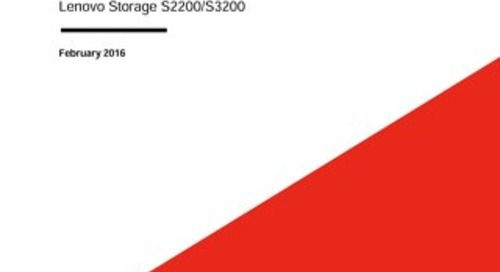 Lenovo Storage S2200, S3200 Asynchronous Replication