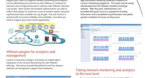 Lenovo Networking Content Pack for VMware vRealize Log Insight