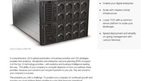Lenovo Solution for SAP Business Suite