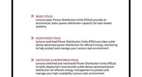 Lenovo PDU Technical Reference - International
