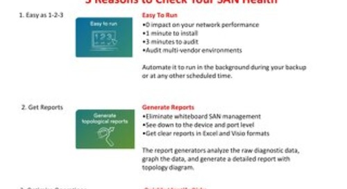 Lenovo-Brocade SAN Health Overview