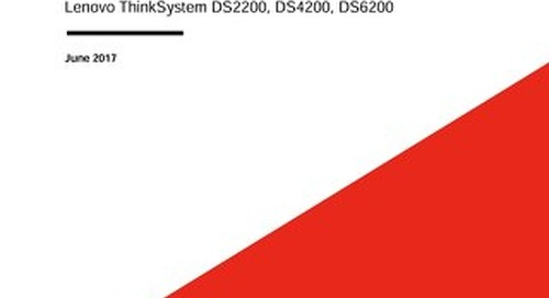 ThinkSystem DS Series Thin Provisioning User Guide