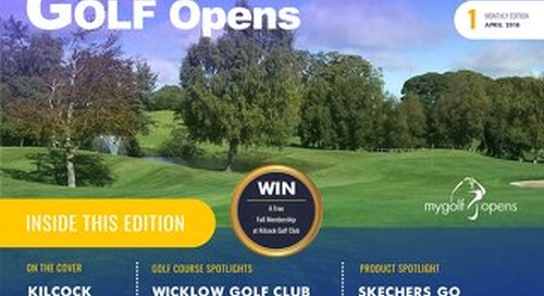 Golf Opens 2018 Digital Magazine - Issue 1