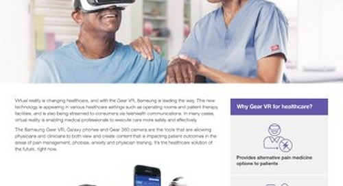 Samsung Gear VR for Healthcare