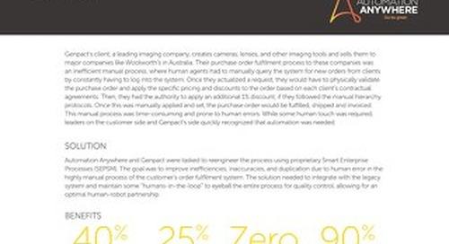 Genpact - Imaging Company