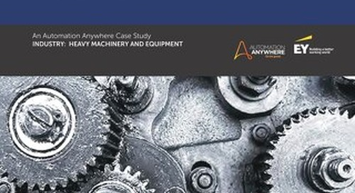 EY - Heavy Machinery Manufacturer