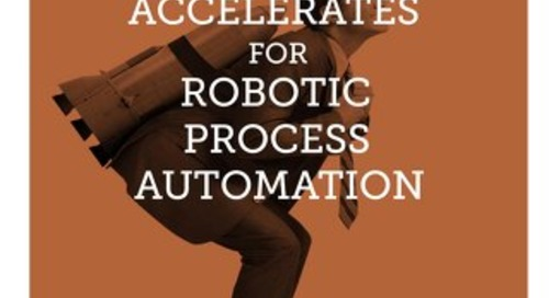 The Maturation Accelerates for Robotic Process Automation