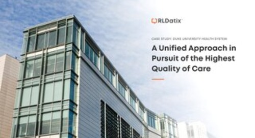 Case Study: Duke University Health System