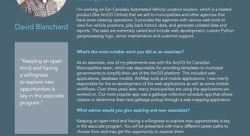 AssociateGISProfessionalProgramProfile_DavidBlanchard