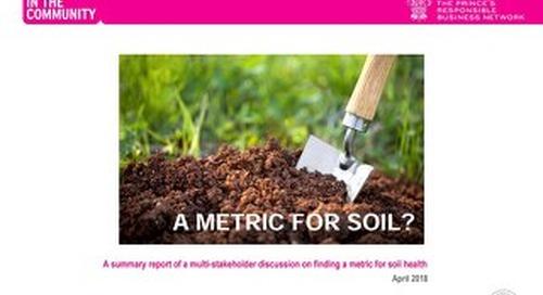 The Soil Metric Report
