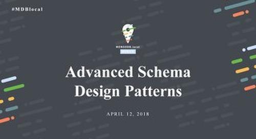 Advanced Schema Design