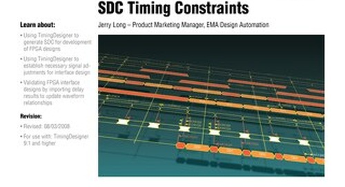 Using TimingDesigner to Generate SDC Timing Constraints